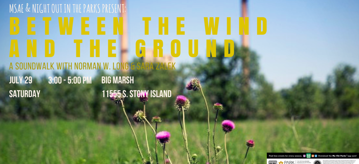 Between the Wind and the Ground | Saturday, July 29th