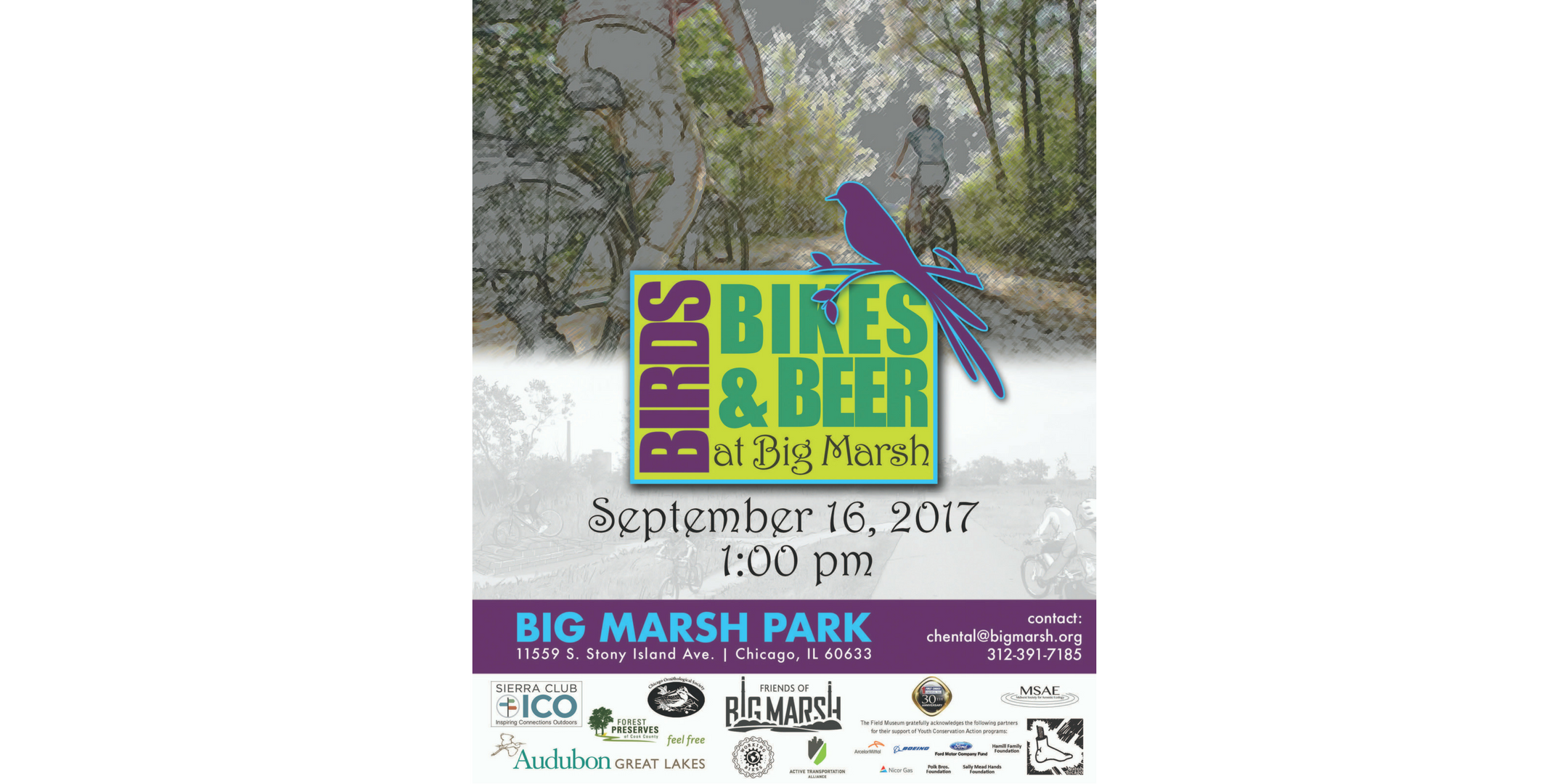 Birds, Bikes & Beer – Saturday, 9/16