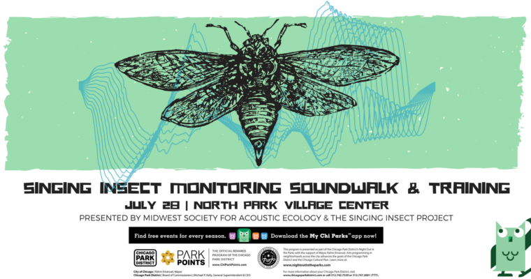 Singing Insect Monitoring Soundwalk & Training – Fri., July 28