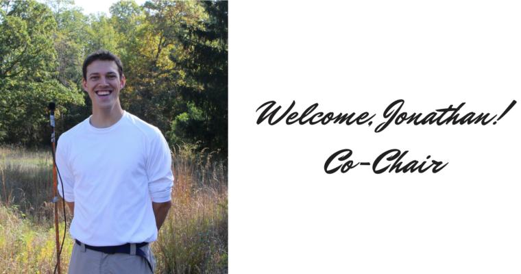 Welcome, Jonathan Eiseman as Co-Chair!
