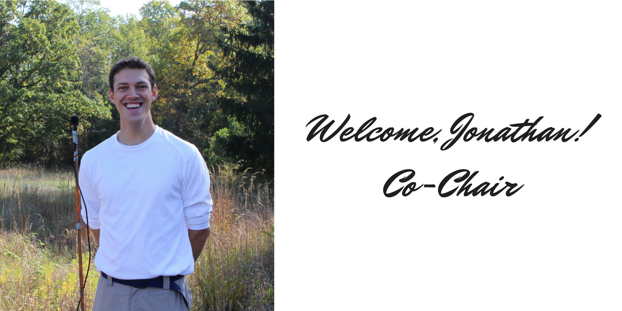Welcome, Jonathan Eiseman as Co-Chair!