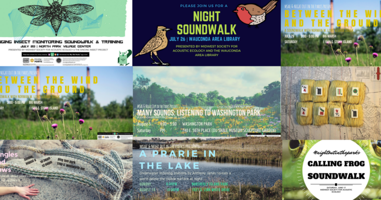 Night Out in the Parks 2017 Programming & Summer Soundwalks